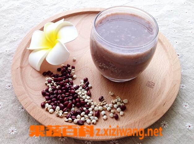 果蔬百科红豆豆浆的功效与作用